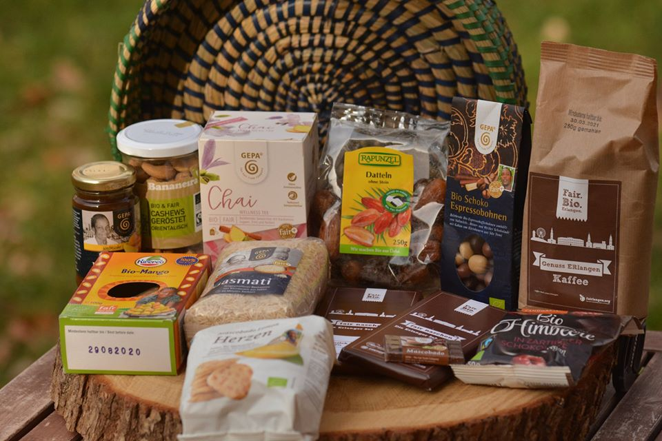 Fairtrade Geschenkkorb