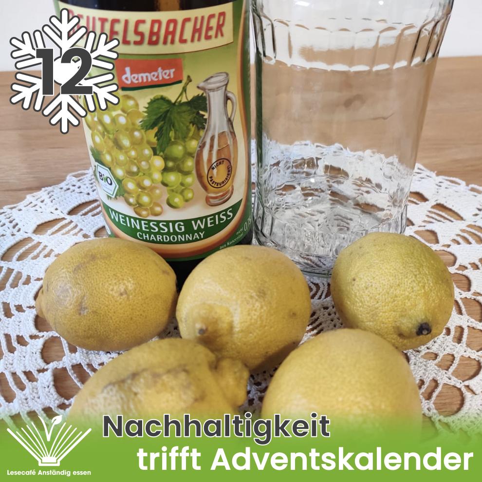 12. Türchen: Zitronenreiniger