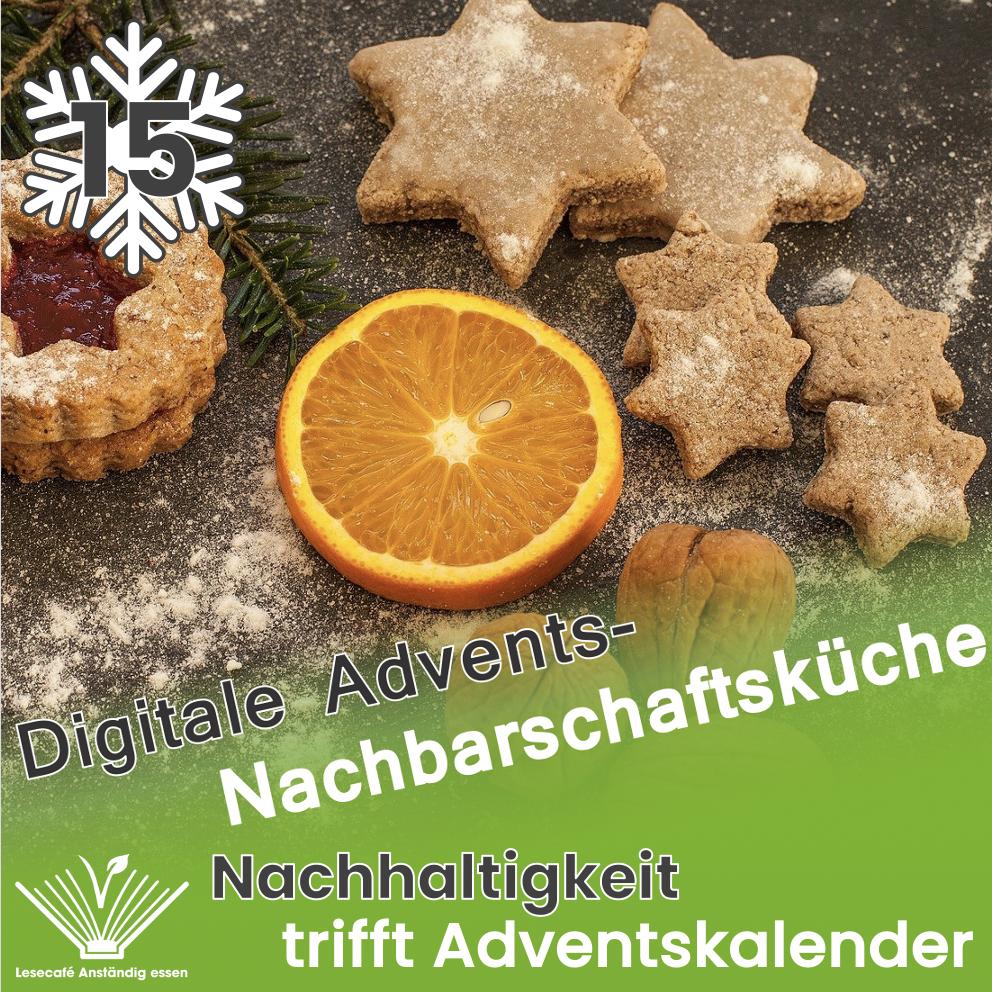 15. Türchen: Digitale Adventsfeier der Nachbarschaftsküche