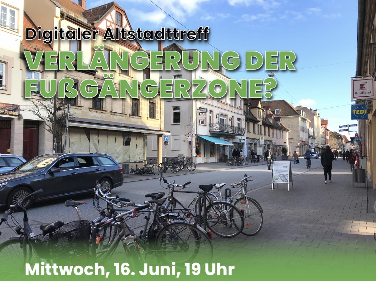 Digitaler Altstadttreff am 16. Juni