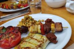 Veganes Grillmenü