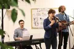Die Band Felisophie Friends sorgt für gute Stimmung